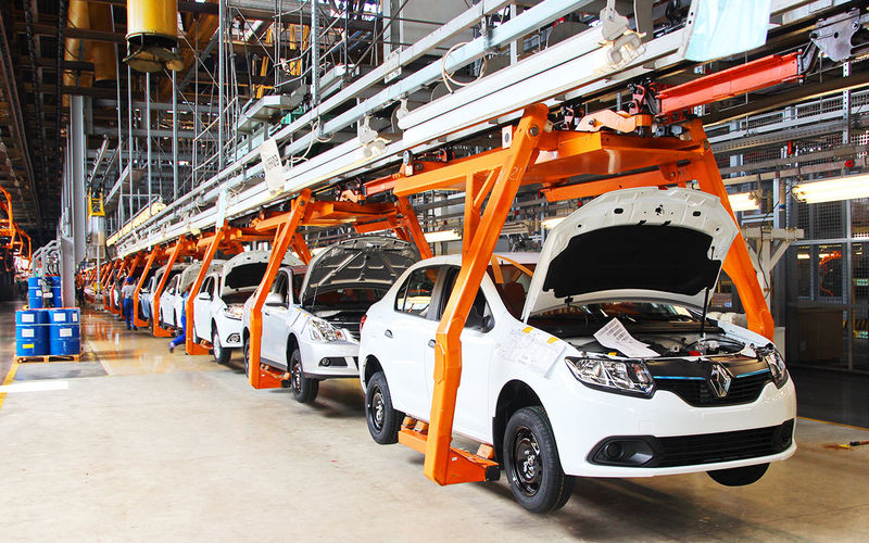Конвейер автоваза работает работа конвейера по сборке автомобилей