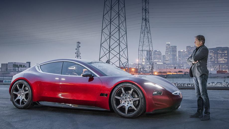 Производство электрокара Fisker EMotion начнётся в 2019 году