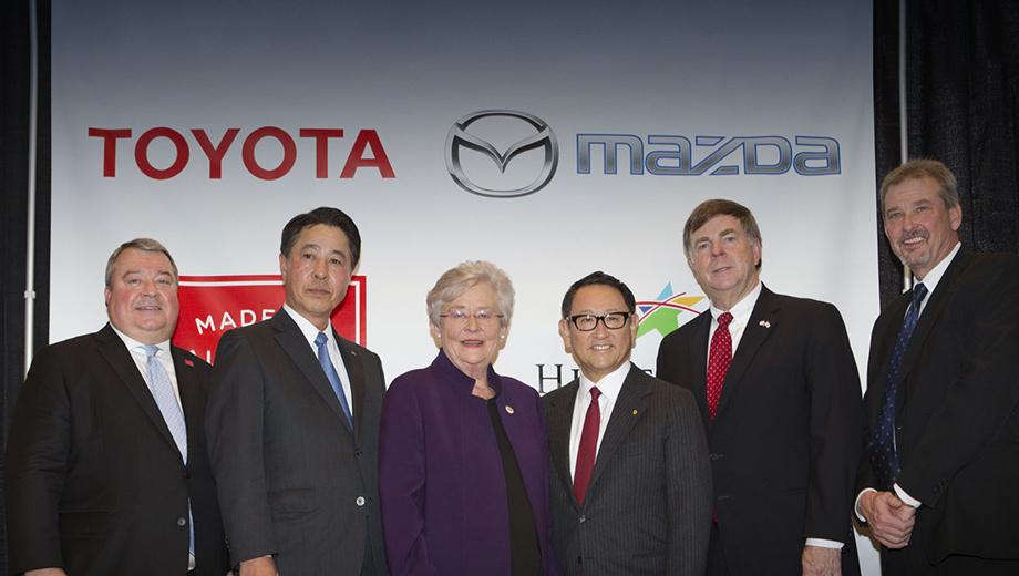 Фирмы Mazda и Toyota определились с местом для завода