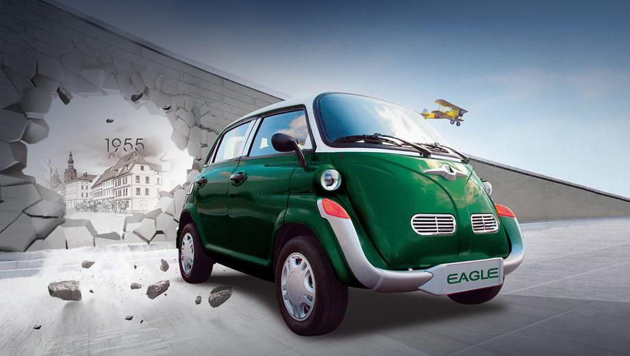 Электромобиль Eagle EG6330K напомнил микрокар BMW Isetta