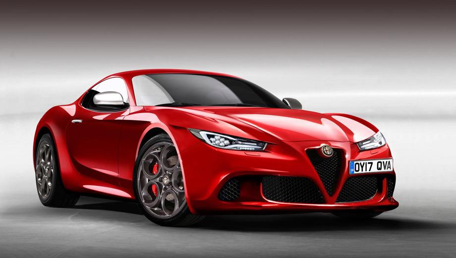 Проект купе Alfa Romeo 6C получил зелёный свет
