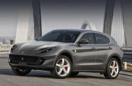 Фирма Ferrari построит кроссовер с опережением графика