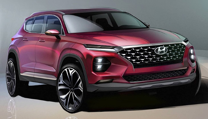 Каким будет новый Hyundai Santa Fe: первые изображения