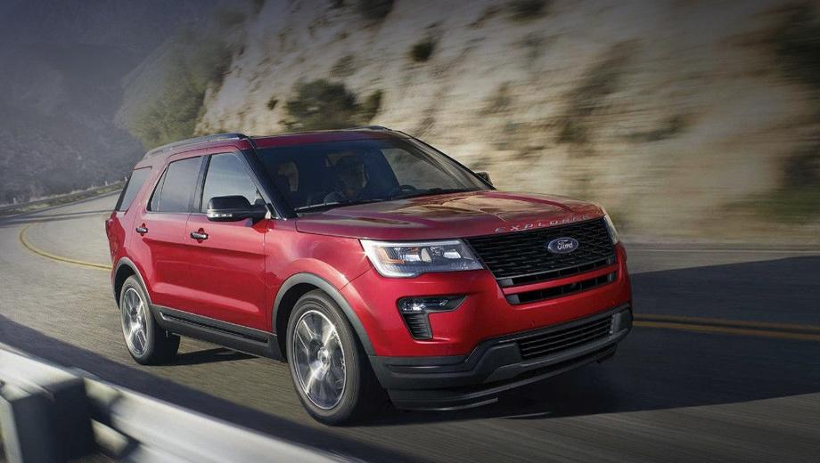 Кроссовер Ford Explorer обзаведётся версией ST