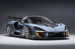 Разработчики удивили параметрами купе McLaren Senna