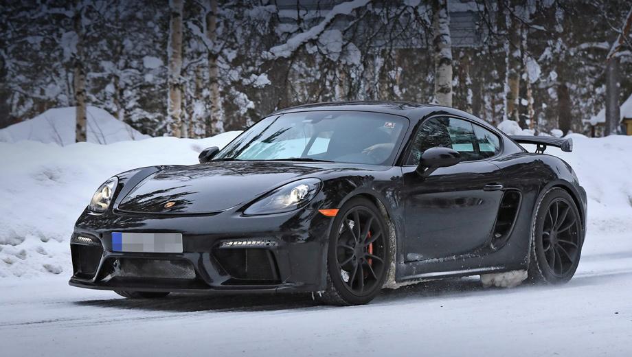 Купе Porsche 718 Cayman GT4 порадует пуристов
