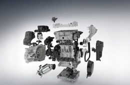 Марка Volvo внедрила свой первый трёхцилиндровый мотор