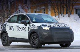 У паркетника Fiat 500X немного изменится внешность