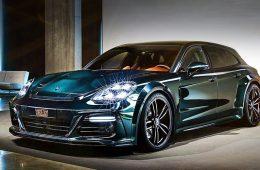 Бюро Techart накачало стероидами универсал Porsche Panamera