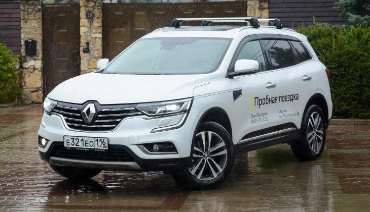 Тест-драйв кроссовера Renault Koleos: когда хочется необычного