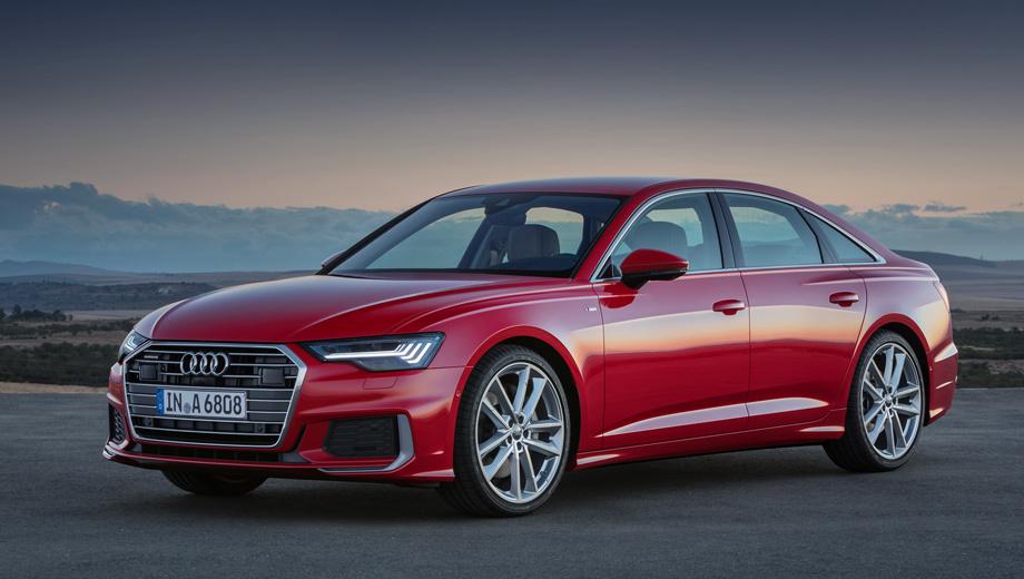 Седан Audi A6 сохранит лавры автомобиля для водителя