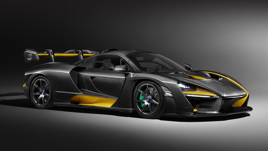 Купе McLaren Senna Carbon Theme подчеркнёт вкус хозяина
