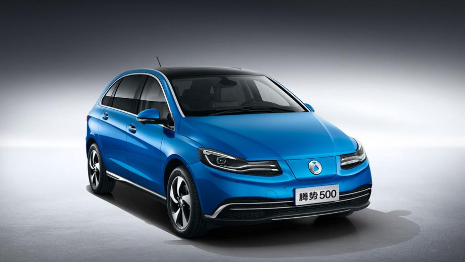 Daimler и BYD обновили электрический хэтчбек Denza