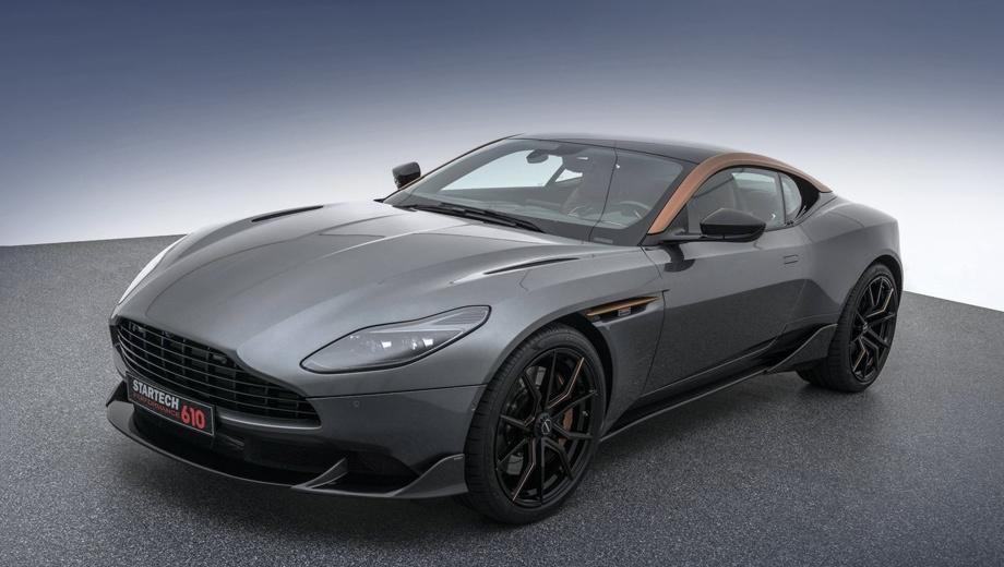 Купе Aston Martin DB11 V8 от Startech обошло в разгоне V12
