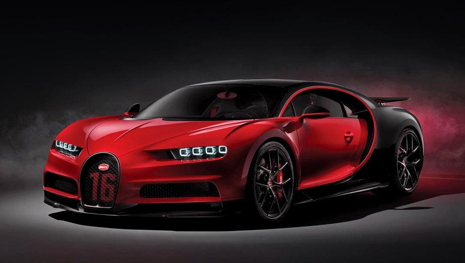 Гиперкар Bugatti Chiron Sport завлечёт клиентов управляемостью