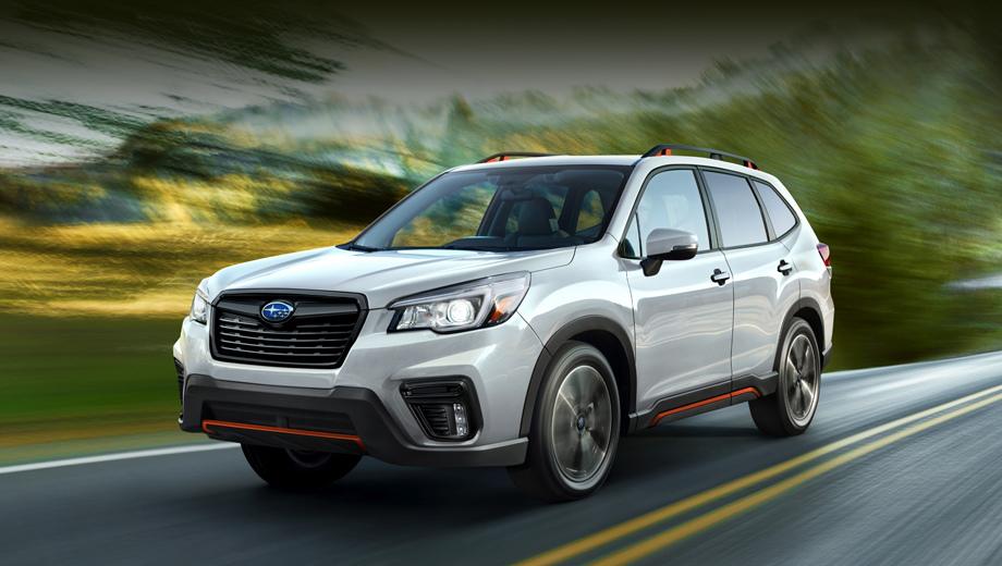 Модель Subaru Forester сменила платформу и улучшила оснащение