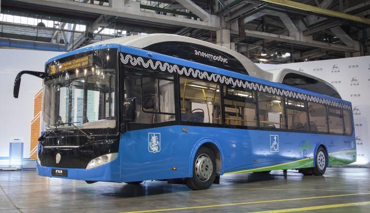 ЛиАЗ представил новый электрический автобус для Москвы