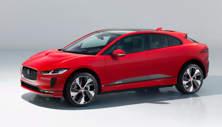Jaguar представил серийный электрический кроссовер