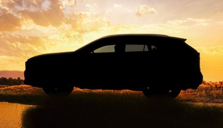 Опубликовано первое изображение нового кроссовера Toyota RAV4