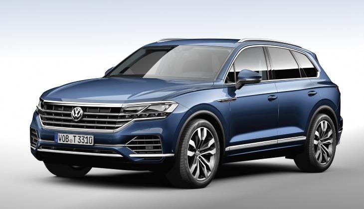Volkswagen Touareg нового поколения превратился в паркетный кроссовер