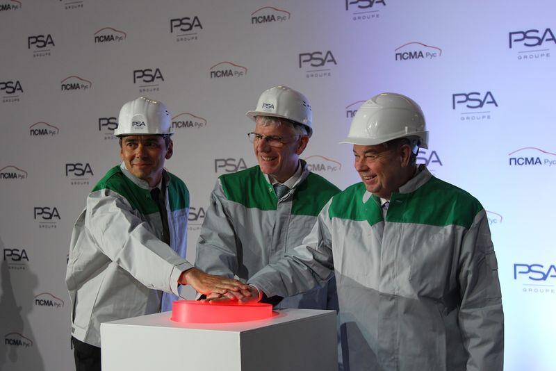 В России начали собирать две новые модели Peugeot и Citroen