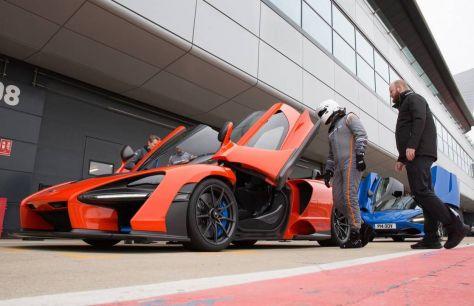 McLaren работает надсвоим электромобилем