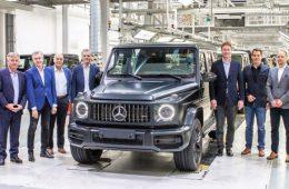 Стартовала сборка нового Mercedes-Benz G-Class