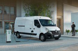 Нидерланды получили первые вэны Renault Master Z.E.