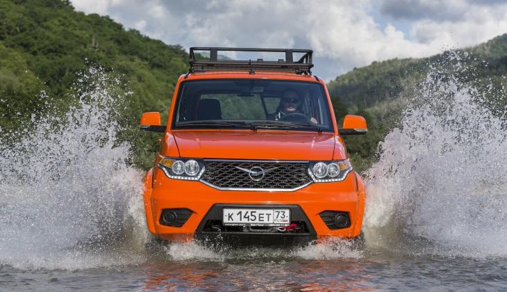 Внедорожник «УАЗ Патриот» получит автоматическую коробку передач