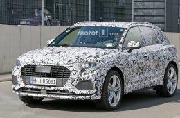 Спортивная версию Audi Q3 нового поколения