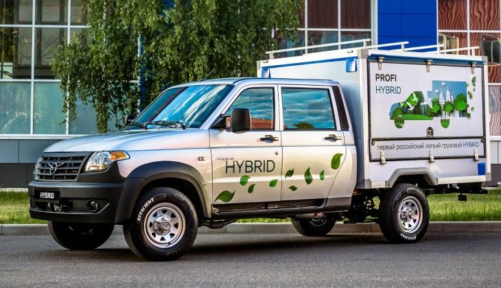 УАЗ сделал гибридный грузовик будущего