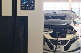Nissan «засветил» прототип электрокара Leaf с усиленной батареей