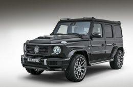 Бюро Brabus оприходовало новый Mercedes G-класса