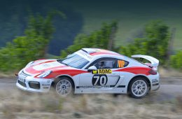 Концепт Porsche Cayman GT4 Clubsport Rally прошёл испытание