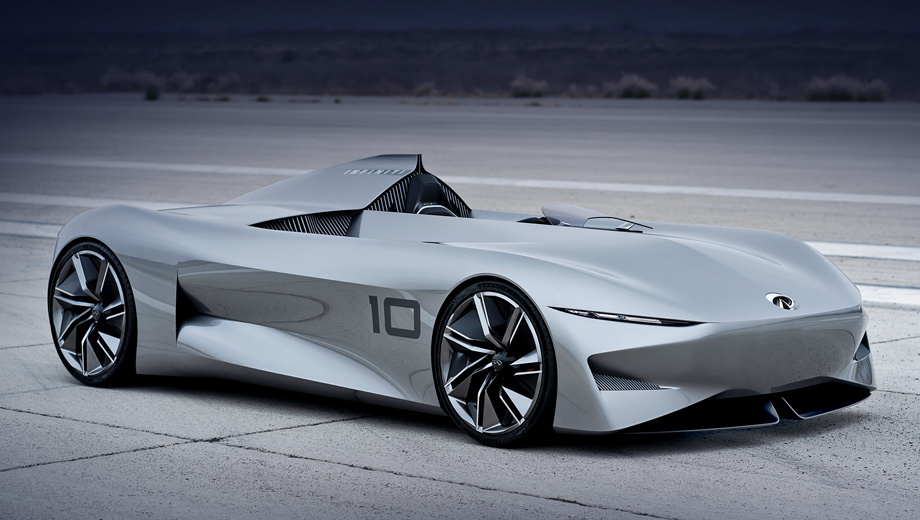 Шоу-кар Infiniti Prototype 10 поприветствовал электрификацию