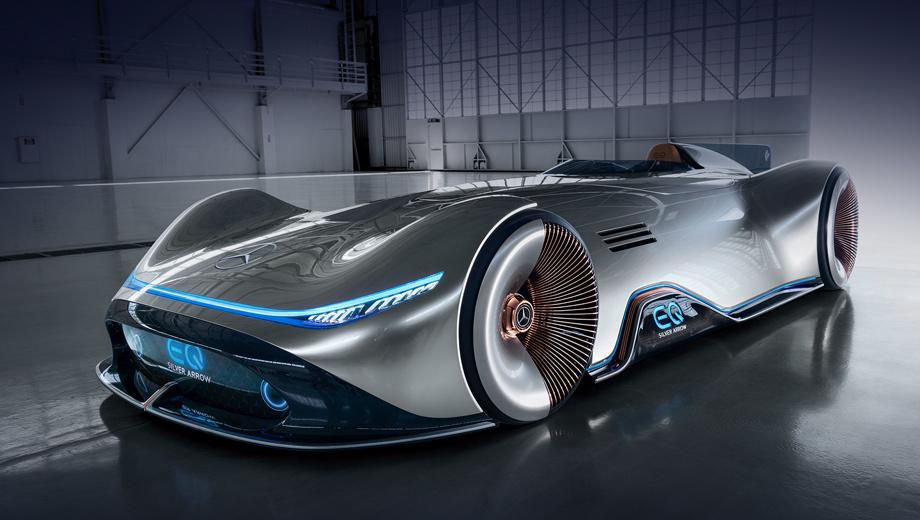 Концепт Vision EQ Silver Arrow воплотил прогрессивную роскошь