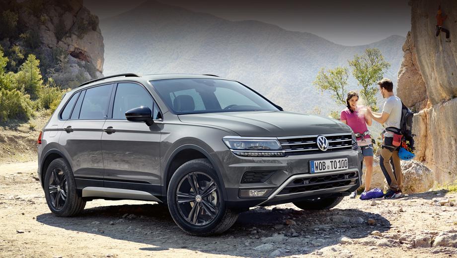 Кроссовер Volkswagen Tiguan Offroad поступит в продажу осенью