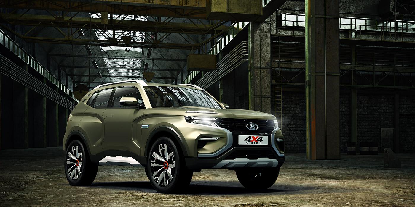 АвтоВАЗ представил прототип новой Lada 4×4
