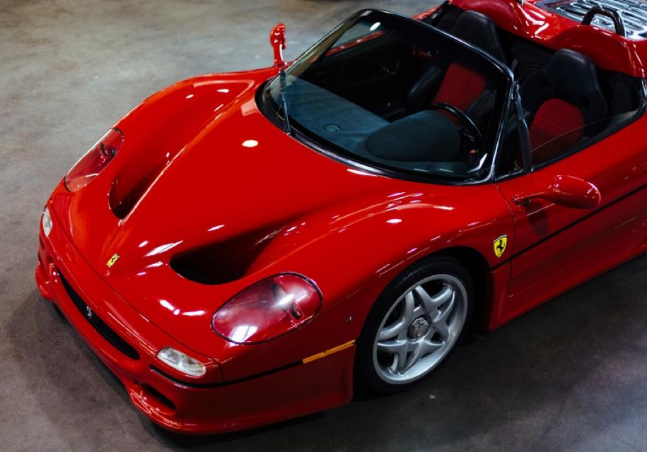 Первый экземпляр Ferrari F50 выставили на продажу