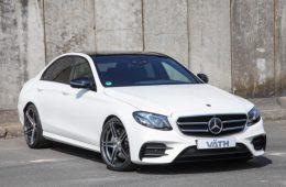 Ателье Vath взялось за прокачку дизельного Mercedes-Benz E-Class