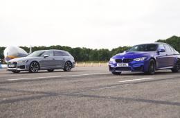 Четыре поколения BMW M3 сравнили в дрэг-гонке