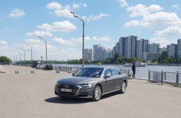Тест-драйв Audi A8: Добро пожаловать в будущее