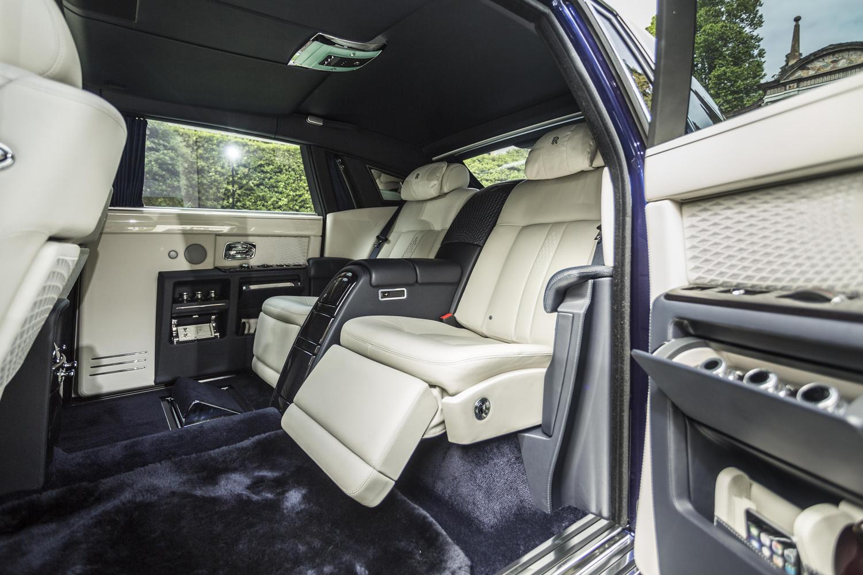 Rolls-Royce Phantom получил полностью изолированный пассажирский отсек