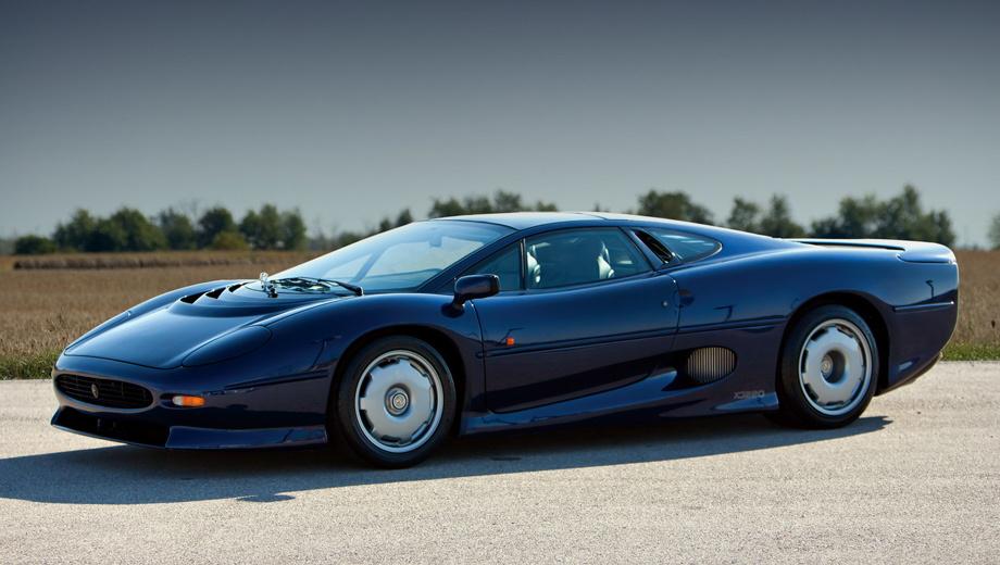 Гало-кар Jaguar J-type задуман среднемоторным гибридом
