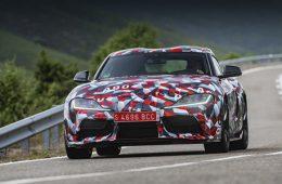 Для модели Toyota Supra разработана версия с «механикой»