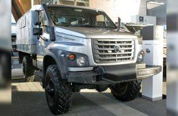 ГАЗ показал новый полноприводный грузовик