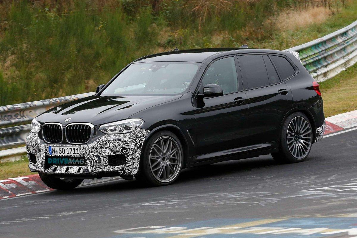 Новые BMW X3 M и X4 M показали во время уик-энда DTM