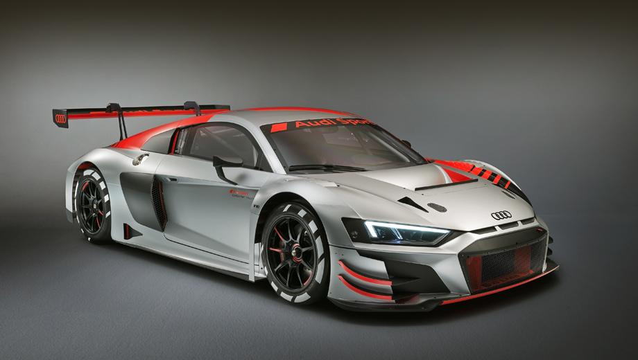 Купе Audi R8 LMS GT3 козырнуло большей выносливостью