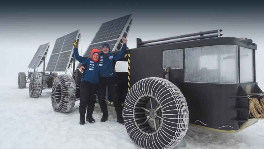 Багги Solar Voyager поедет к Южному полюсу на энергии света