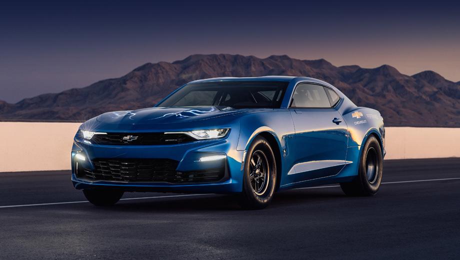 Купе Chevrolet eCOPO Camaro намекнуло на будущее легенды